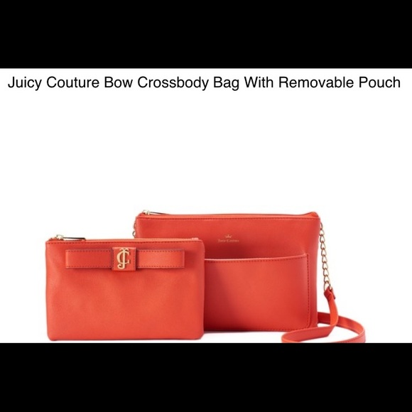 6d6cdfbf49e9 Juicy couture crossbody bag with removable pouch